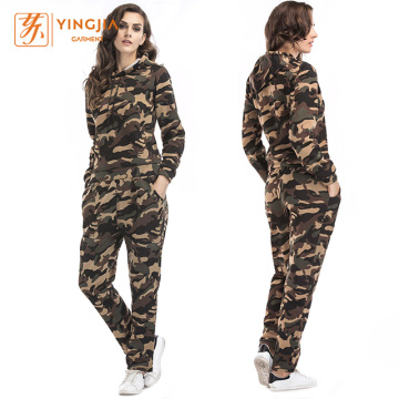 Women's Camouflage Sports Leisure Two-Piece Sets