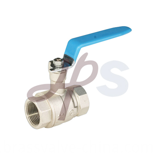 Brass Ball Valve Plated Nickel Hb46