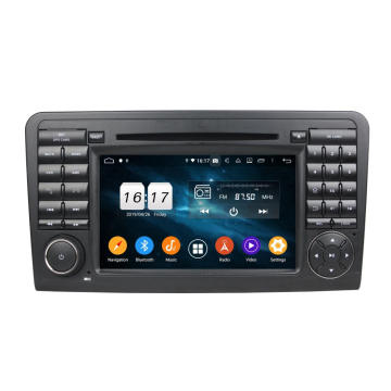 Car gps headunit for  ML CLASS W164