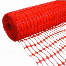 Snow Fence Orange Plastic Safety Warning Net