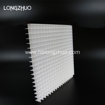 Plastic return eggcrate air grille 15mmx15mmx12.7mm