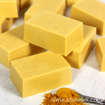 OEM Organic Turmeric Herbal Handmade Soap