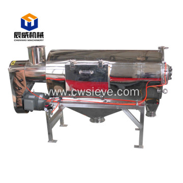 Fully enclosed centrifugal sifter for wood chip
