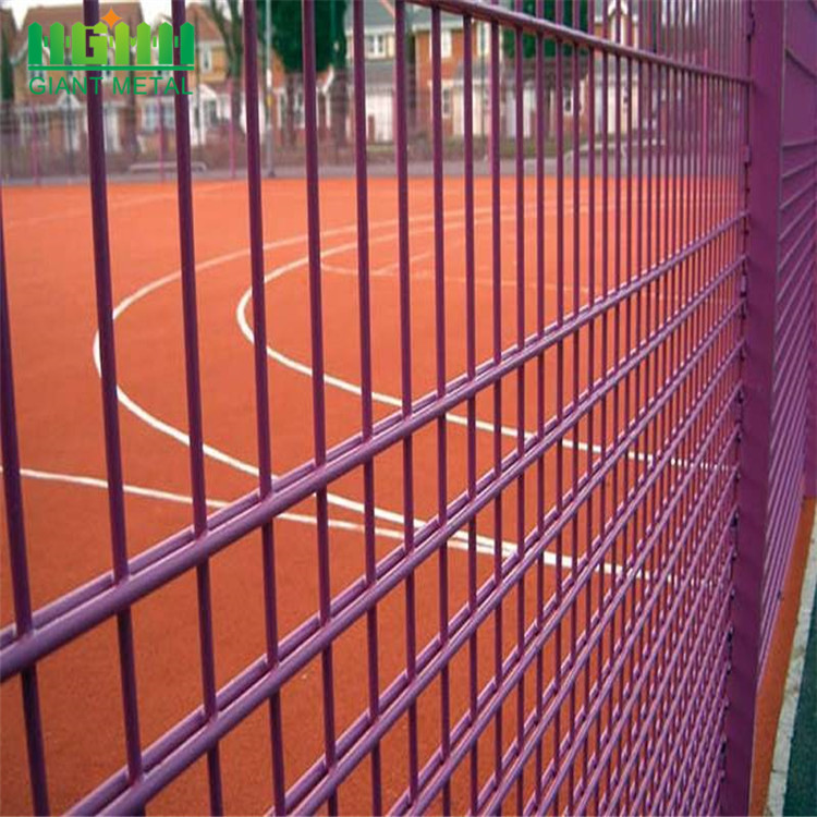 Easily Assembled Double Horizontal  Welded Wire Fencing