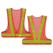 Safety vest with lights