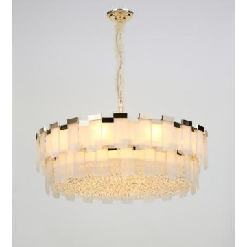Modern Nordic Style Restaurant Luxury Crystal Chandelier