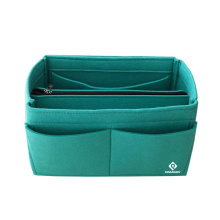 Plain Green Multi-Function Large Capacity Storage Makeup Organizer Cosmetic Bag