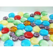 Multicolor Vase Filler Decorative Glass Gems Glass Beads