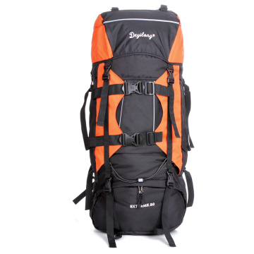 Large capacity dolioform travel backpack