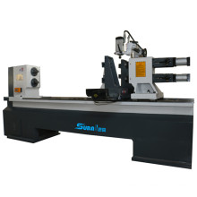 4 axis multi function wood lathe