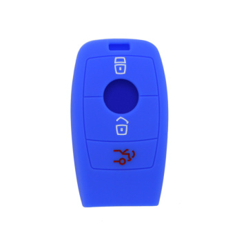 Protective soft silicone for mercedes-benz 3 button key