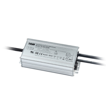 Dimmable constant current wall pack driver