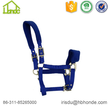 Royal Blue Comfortable Fleece Head collar