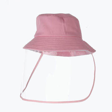 Children Used Face Protection Shield Hat