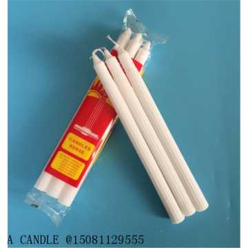 400G WHITE PARAFFIN WAX CANDLE HOUSEHOLD DAILY VELAS USE SMOKELESS
