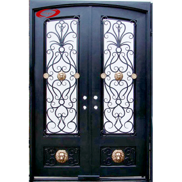 Customized Security Main Door Design Double Iron Door