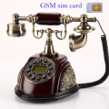 cordless Phone GSM SIM Card Fixed for the elderly old elder Landline antique Fixed Wireless Telephone home office russian world