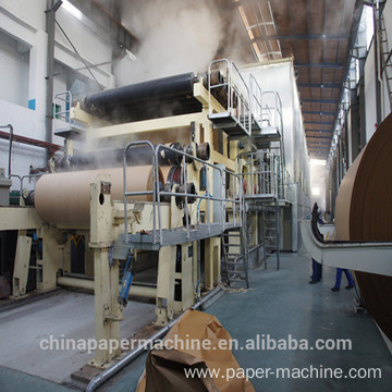 Cylinder Mould Kraft Fluting Paper Making Machine