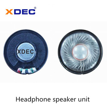 High quality 40mm 32ohm 30mw headphone speaker driver