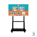 55 Inches 4K Touch Screen with mobile stand