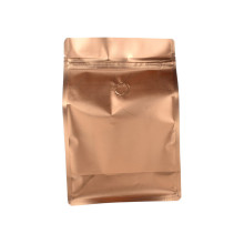 Side Gusset Flat Bottom Bag coffee bag with valve