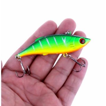 1Pcs 7.5cm 10g Rattlin Vib Fishing Lure Artificial Bait Vibration Fishing Tackle Crap Fishing Swimbait Pesca Wobblers