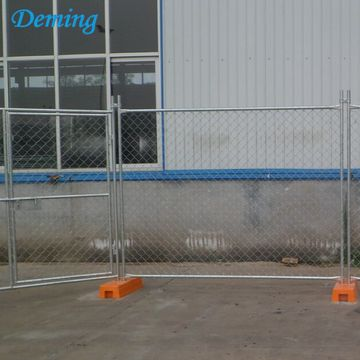Hole Size 6'x12' Temporary Chain Link Fence Panel
