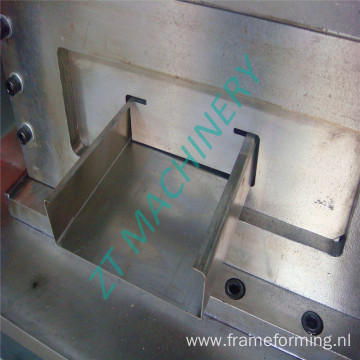 High quality hot sale automatic C75-300 purlin machine