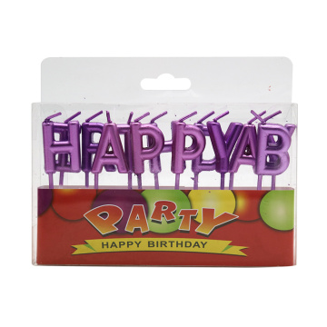 Letter birthday smokeless party candle