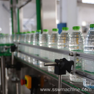 OPP Label attaching machine for edible oil bottle