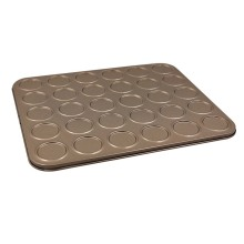30-Cavity Macaroon Biscuits Cookie Bakeware For Oven Baking