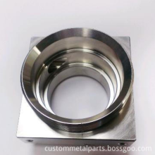 CNC Machining Stainless Steel Parts with Plating