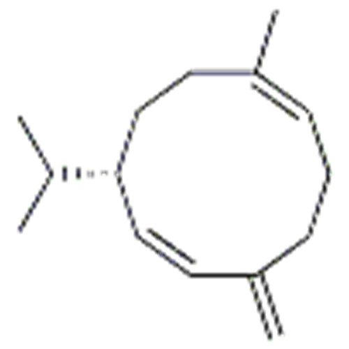 1,6-Cyclodecadiene,1-methyl-5-methylene-8-(1-methylethyl)-,( 57251581,1E,6E,8S)- CAS 23986-74-5