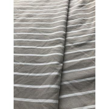 polyester yarn dyed stripe fabric for bedsheet