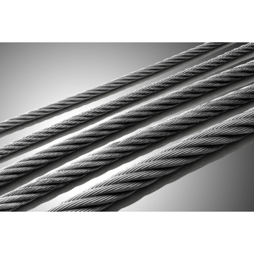 304/316 plastic coated stainless steel wire rope