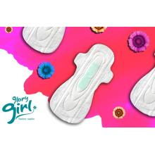 Super soft sanitary napkins with silver ions