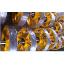 Elevator Suspension Pulley Cast Iron Pulley