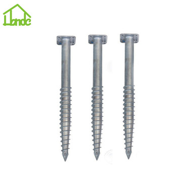 Most popular hot galvanized ground screw anchor