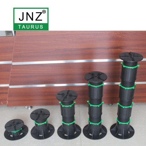adjustable plastic pedestal for tile marble support