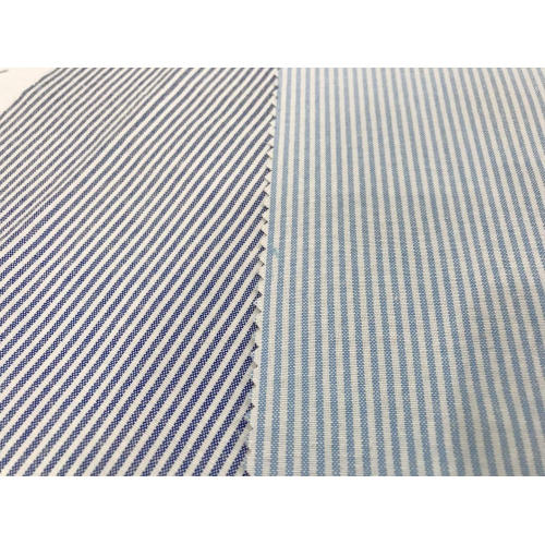 T/C Oxford Woven Yarn-dyed Stripe Fabric