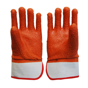 PVC Coated Gloves with winter monkey grip liner