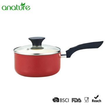 Ceramic Coating Bakelite Handle Sauce Pan