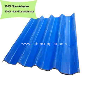 Non-asbestos Green Roofing Material Of MgO Roofing Sheets
