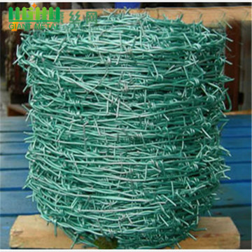 Anti-corrosion Galvanized Barbed Wire Fence