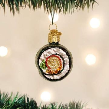 Hand Blown Painted Glass Christmas Ornaments