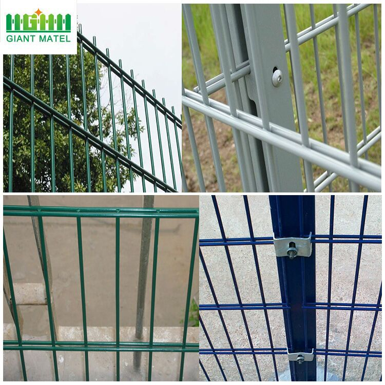 High Quality Double Horizontal Wire Welded Fence