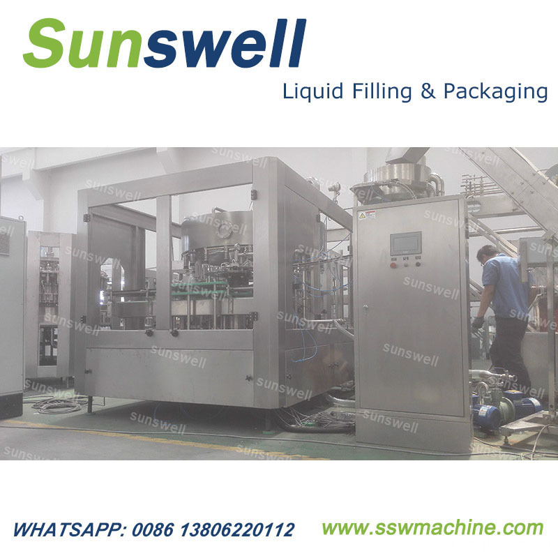Automatic Edible Oil Rotary Volumetric Filling Machine