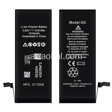Brandnew iPhone 6 Battery يدعم iOS 12