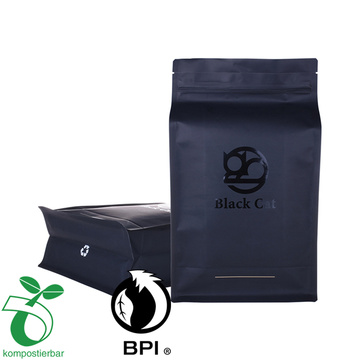 All size compostable coffee packaging bag with valve
