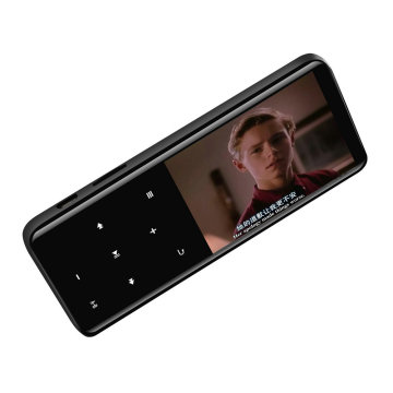 Vandlion MP4 Player With Bluetooth Lecteur MP3 MP4 Music Player Portable Media Slim 2.4 inch Touch Keys Fm Radio Video HIFI 16GB